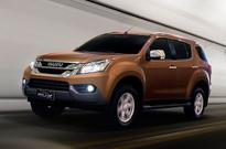 Isuzu MU-X SUV likely to be launched in India by 2016-end, to rival Toyota Fortuner, Ford Endeavour