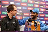 Australian scribe shares his story of 'sit-down' with Dhoni