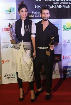 PIX: Shahid, Rana, Aditi, Kriti win awards