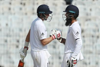 Chennai Test: Ali, Root guide England to 284/4 on Day 1