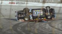 Video: Jay Leno rattled after muscle car multiple flip fail