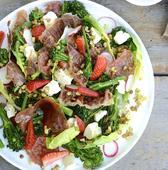 Prosciutto, Strawberry and Feta Salad recipe