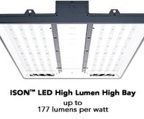 Orion Breaks Industrial Lighting Performance Barriers Again With the New ISON High Lumen High Bay