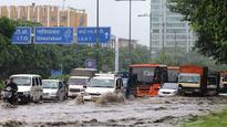 Heavy rain spell lash capital, triggers water-logging and traffic snarls