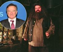 Why Robin Williams was rejected for the role of Hagrid in the 'Harry Potter' movies