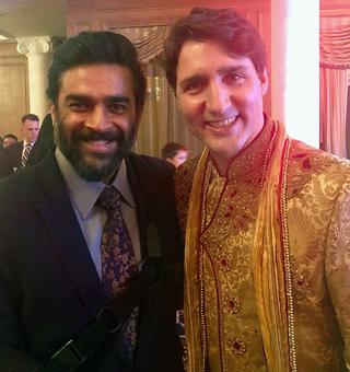 'Trudeau does the most awesome bhangra!'