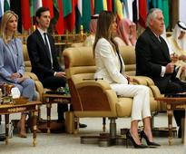 Melania, Ivanka Trump forgo headscarves during Trump's Saudi Arabia visit