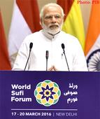 Text of PM's address at the World Sufi Forum