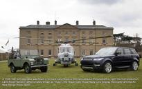Land Rover celebrates their 65th anniversary with oldest employee and Defender LXV