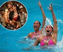 Mexican synchronised swimmers dance to Akshay Kumar's Aila re aila at Rio Olympics