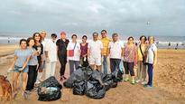 Citizens now initiate Juhu beach clean-up after Versova success
