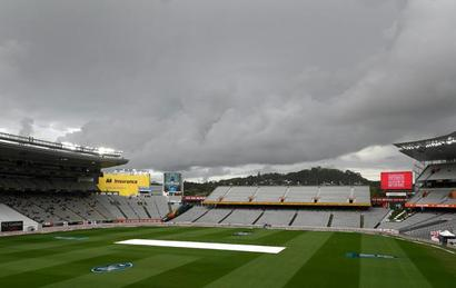 Rain continues to disrupt first NZ-England Test