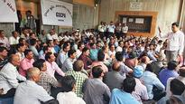 College principals, teachers hold peaceful protest