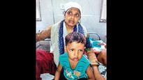 Bhiwandi building collapse Mum comes out of debris with 4-year-old son