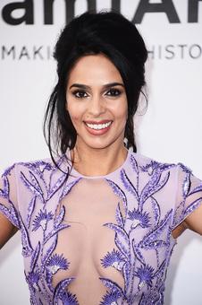 PIX: Mallika Sherawat goes bold for amfAR gala