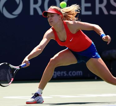 Another shocking exit for Canada's Bouchard