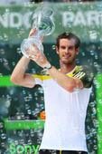 Miami Masters - Murray back at world number two after Florida triumph