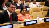 Sushma Swaraj calls on CARICOM countries for stronger collective action to deal with terrorism