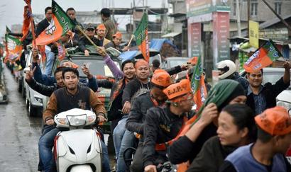 Manipur: Four Congress MLAs join BJP