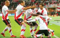 River in final with nervy win