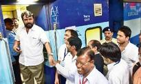 Summons to Sena MLA for delaying train by 56 mins