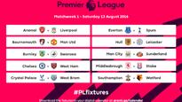 Football: Arsenal face Liverpool in first week of EPL fixtures