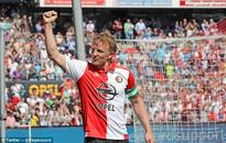 Former Liverpool striker Dirk Kuyt signs new one-year contract at Feyenoord after impressive resurgence in the Eredivisie