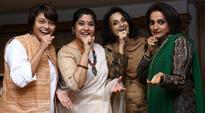 Reunion pics of Antakshari hosts Renuka Shahane, Rajeshwari, Durga Jasraj, Pallavi Joshi will make you nostalgic