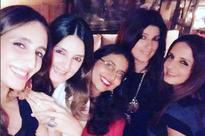 Pics: Twinkle Khanna parties with Sussanne Khan and her girl gang