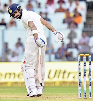 Stats: Inconsistent Kohli has not had the best year