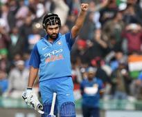 Rohit first batsman to score third ODI double ton, takes India to 392/4