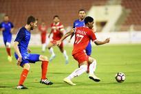 Oman edge France to enter quarters