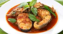 Try this delicious fish curry with curry leaves