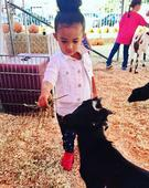 Check out this cute photo of Chris Brown's daughter, Royalty