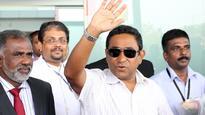 Maldives President Visits Capital City
