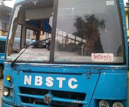 Bharat Bandh: Despite Mamata's warning, buses targeted in Cooch Behar