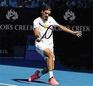 Federer, Kerber in quarters; Djokovic crashes out