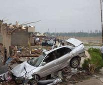 Scenes of carnage as death toll from Jiangsu, China tornado reaches 98