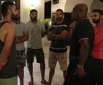 Virat Kohli, Team India players meet 'greatest ever' Sir Viv Richards ahead of Antigua Test