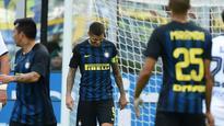 Inter Milan lose to Cagliari, Lazio draw with Bologna