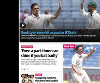 Steve Smith & Co conquer India in Pune Test: Here's how Australian media hailed their national team