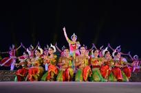 The Glories of the Lord's feet and the divine grace depicted in Odissi, Bharatnatyam recital; Third evening in Konark Festival