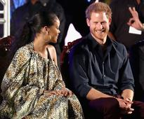 Prince Harry met Rihanna and they could not stop laughing