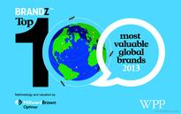 WPP: Apple the most valuable global brand in 2013, Google follows closely