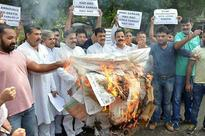 JKNPP stages protest against attack on Dalit youth