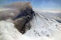 Alaska volcano erupts, flights affected