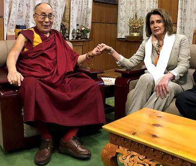 US lawmakers meets Dalai Lama; China protests