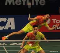Chai Biao, Hong Wei win men's double semifinal in Indonesia