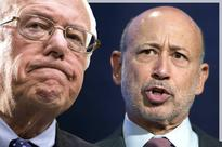Bernie's making Wall Street shiver: Goldman Sachs CEO Lloyd Blankfein lashes out against Sanders, warning  a dangerous moment could be ahead