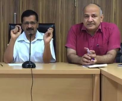 'If you betray AAP, you betray God': Kejriwal to AAP councillors